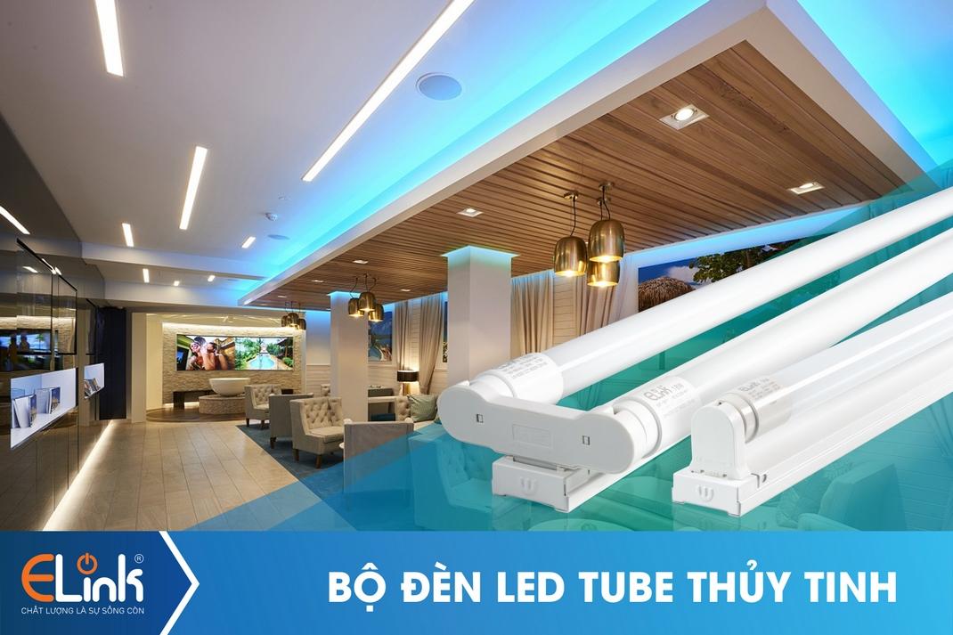 Bộ đèn LED TUBE thủy tinh 18W